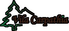 Cazare pensiune Bran logo Vila Carpathia